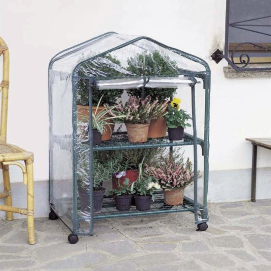 Azalea Greenhouse 2 Wheeled Shelves