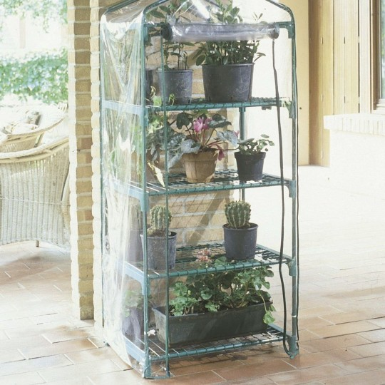 Azalea Greenhouse 4 Wheeled Shelves