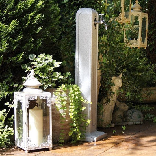 Water Point Column Fountain Garden 24x24x90cm