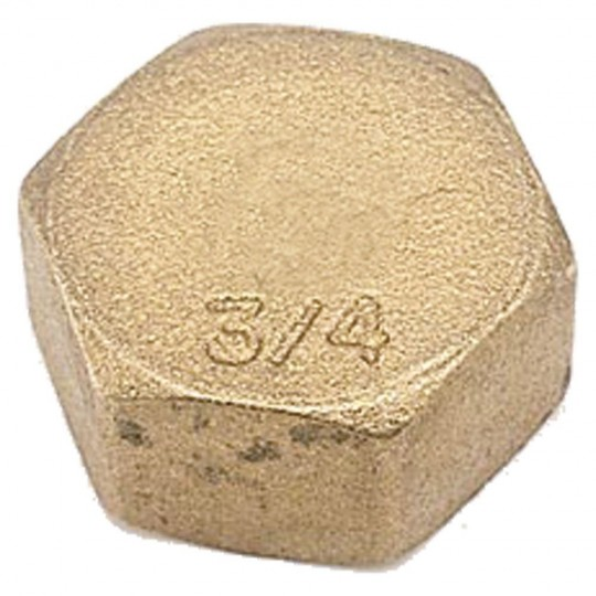 Brass Female Stopper