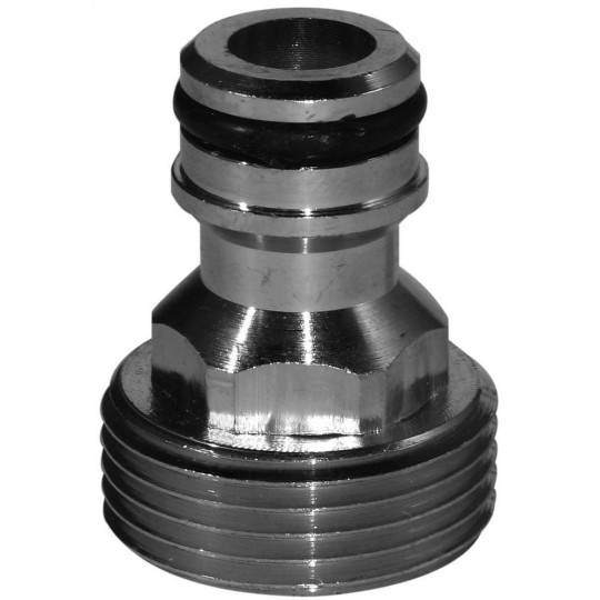 Nickel Brass Tap Adapter 3/4""