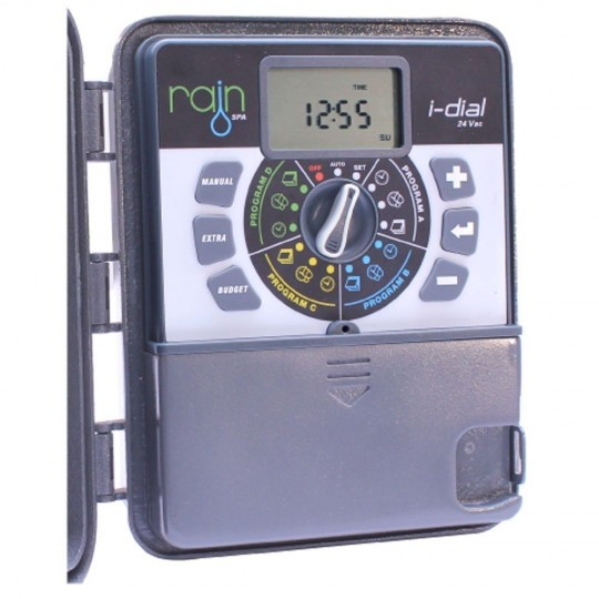 Rain I-Dial Latch 9Vdc Outdoor Programmer