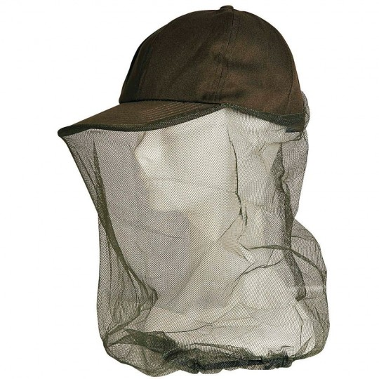 Cap With Anti-Insect Network Protection