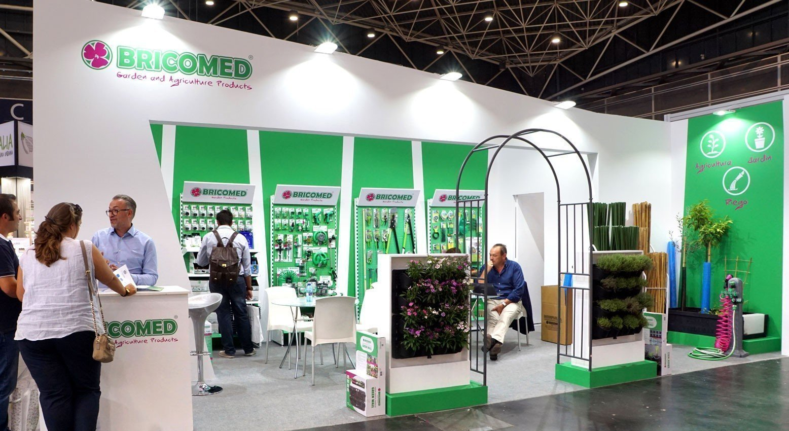 Bricomed en Iberflora 2018